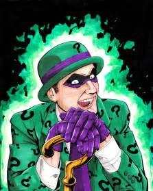 supereroi per caso le disavventure di batman e robin enigmista