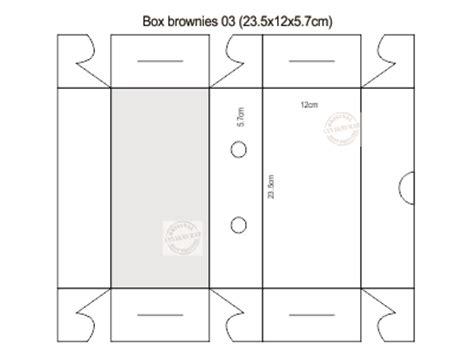design dus makanan www cetakmurah com box brownies 03 23 5x12x5 7cm
