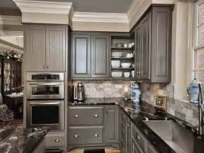 Gray Backsplash Kitchen by C B I D Home Decor And Design Boo To You And