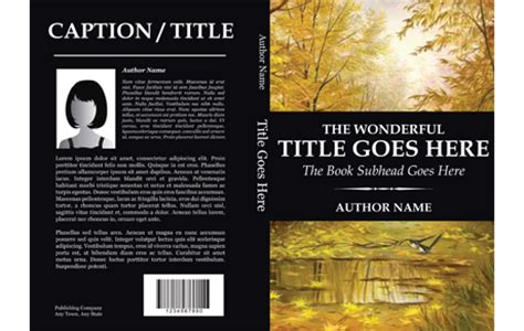 templates for book covers book cover templates