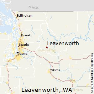 Leavenworth Washington Map by Best Places To Live In Leavenworth Washington