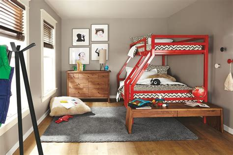 room and board bunk bed room and board bunk bed fort duo bunk bed 369604 from