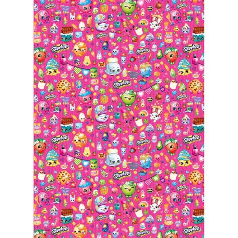 Gift Bags From Wrapping Paper - shopkins gift wrapping paper and gift bags ebay