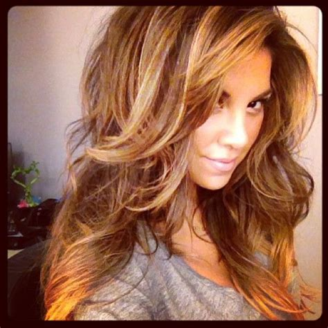 Beautiful My Hair And Highlights On Great Color And Layers For Me Hair And Fashion