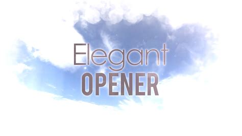 Elegant Opener Apple Motion 5 Template Motion 5 Templates Free For Mac