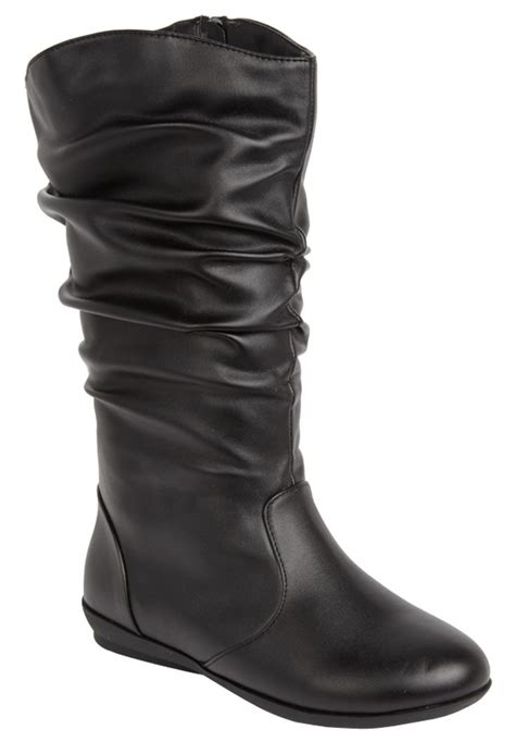 within wide calf boots wide width comfortview 174 charm quot melia quot wide calf slouch