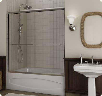 how to install a bathtub door custom frameless shower glass doors seattle bellevue