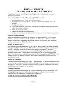 Analytical Report Writing Sle by Best Photos Of Formal Report Sle Formal Report Writing Exle Formal Report Format