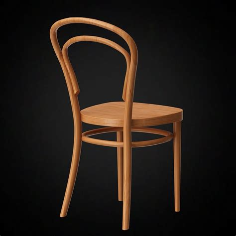 On Chair - 3d thonet chair no14 furniture 3d models