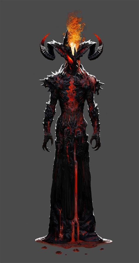 Noblassse Lord Of Vire artstation hookwang character 2 demons
