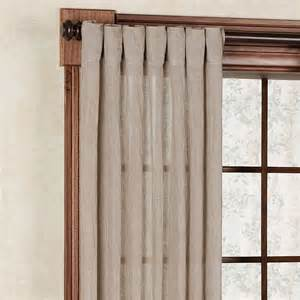 back tab curtain panels chambray semi sheer back tab curtain panels