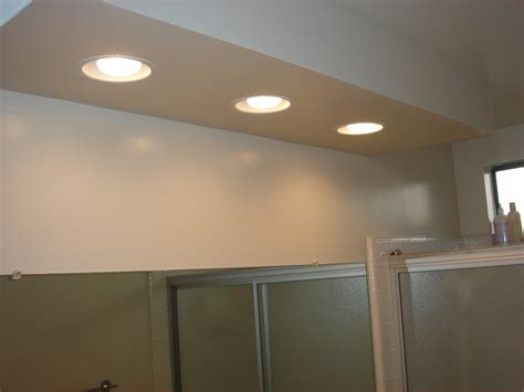 recessed lighting for bathrooms bathroom recessed wall bathroom loversiq