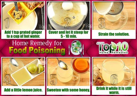 home remedies for food poisoning top 10 home remedies