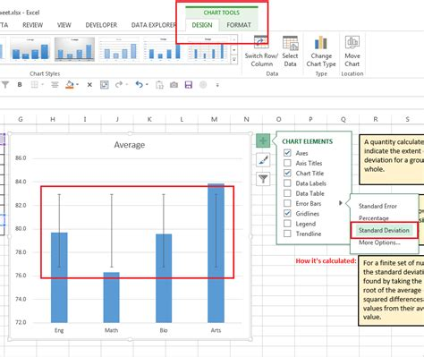 adding error bars to charts in excel 2013 nathan brixius how to create standard deviation error bars in excel
