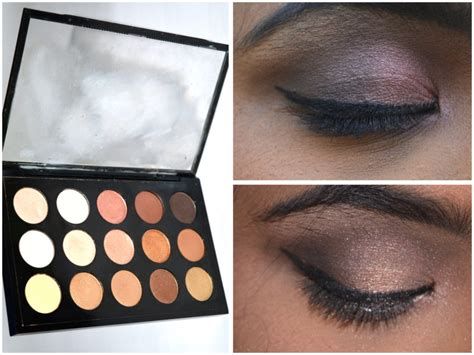 Eyeshadow X15 Warm Neutral mac eyeshadow x 15 warm neutral palette review swatches