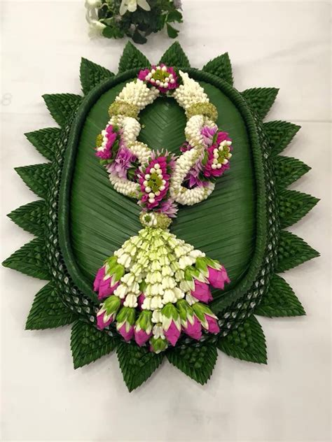 Thai garland   Thai Flower   Pinterest   Garlands, Flower
