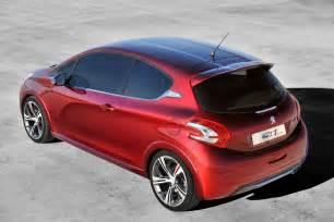 Peugeot 208 Pictures Peugeot 208 Gti Concept Autooonline Magazine