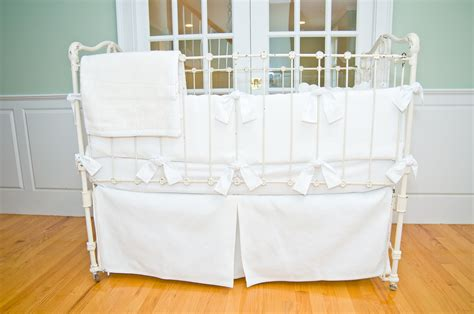 Babies White Crib Bedding White Baby Bedding Crib Sets