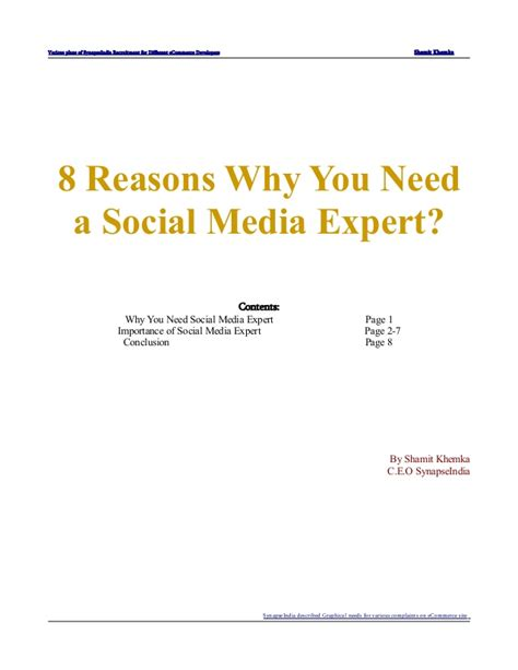 8 Reasons Why You Need A Hobby by 8 Reasons Why You Need A Social Media Expert Defined By
