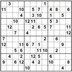 5 best photos of super sudoku 16x16 print monster sudoku 12x12 super sudoku magazine
