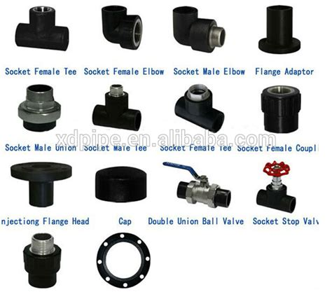 Fitting Hdpe electrofusion hdpe end cap pipe fitting plastic electric