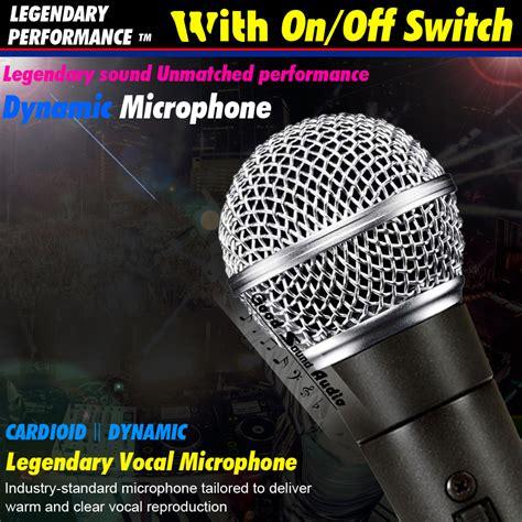 Shure Sm 58 Switch Mic Mik Microphone Mikrofon Kabel Sm58 Aksesoris buy wholesale shure microphone from china shure