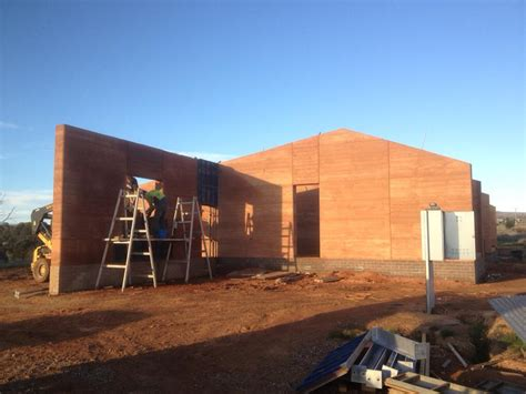 Houde Home Construction rammed earth australia photo gallery