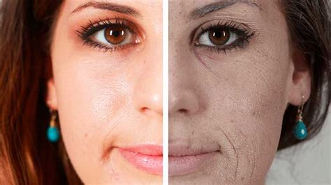 el rostro de un 8496546985 el rostro del fumador y sus da 241 os muy notorios en la piel