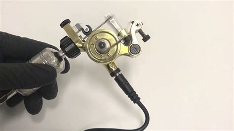tattoo machine jackhammer jackhammer rotary tattoo machine demo youtube
