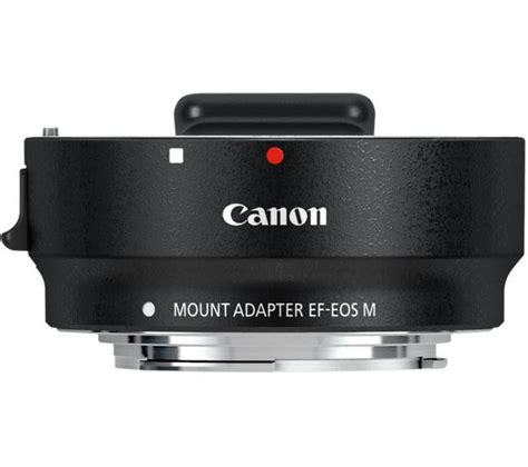 Goods Canon Mount Adapter Ef Eos M Brand New canon ef eos m lens mount adapter deals pc world