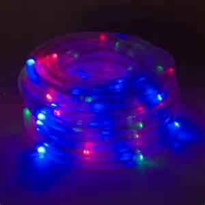 blue lights walmart solar powered 100 green blue led rope outdoor