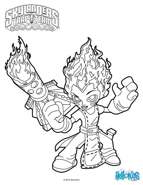 krypt king coloring pages skylanders printable coloring pages trap team