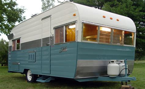 sold 1964 shasta model twenty restored vintagecergirl