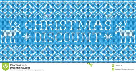 Seamless Gift Card Coupon - christmas discount scandinavian style seamless knitted pattern stock images image