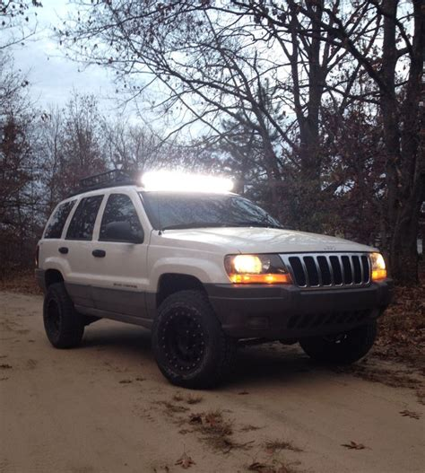 Jeep Grand Light Bar by Jeep Grand 2 Inch Lift With 40 Quot Led Light Bar