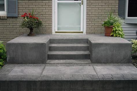 concrete steps goodmanson construction