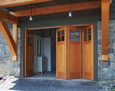 Residential Bifold Garage Doors Bi Fold Garage Doors Interior Carriage Doors
