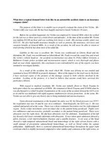 car accident demand settlement letter 1
