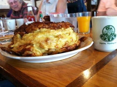oak table restaurant corn platter picture of oak table cafe sequim