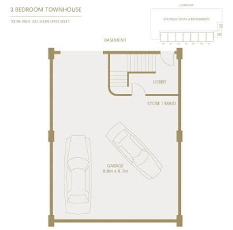 Townhome Floorplans golden mile townhouse floor plans palm jumeriah dubai