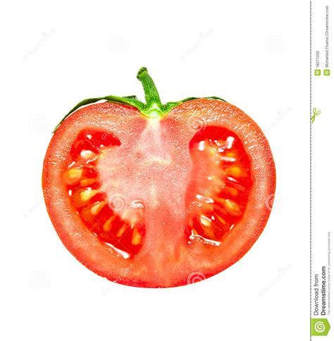 Half Tomato Stock Photo   Image: 18271200