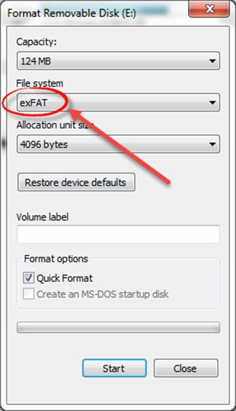 format exfat file allocation size how to increase performance life of your pen drive