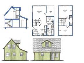 Small Cabin Designs And Floor Plans Small Courtyard House Plans Small House Plans With Loft