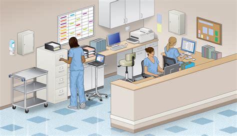 Desk Designer by Nurse S Station Surgery Center Product Categories