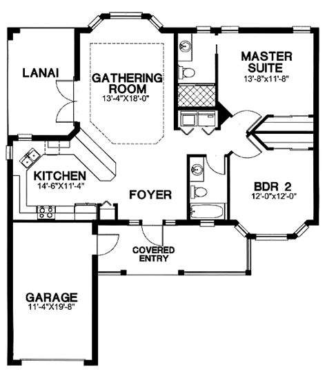 florida cracker house plan chp 26890 at coolhouseplans