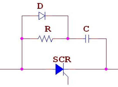 power of resistor in rc circuit how snubber circuit protects scr power electronics a to z