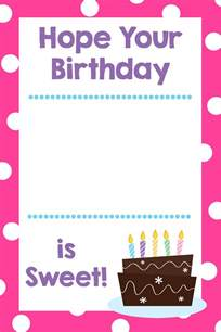 printable birthday gift card holders projects