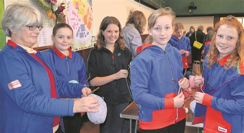 Guides Senior Section by Saddleworth Guides Get Creative To Learn About