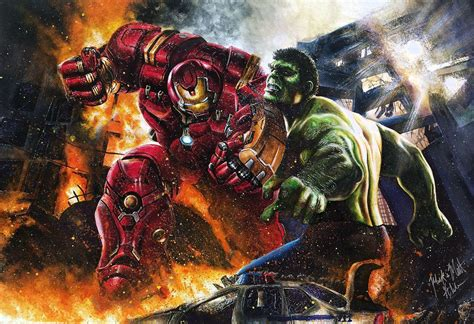 hulk hulkbuster wallpapers wallpaper cave
