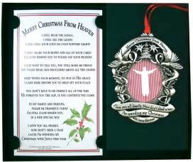 spending christmas in heaven poem share the knownledge